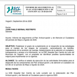 Seguimiento Plan Anticorrupcion Mayo – Agosto 2020